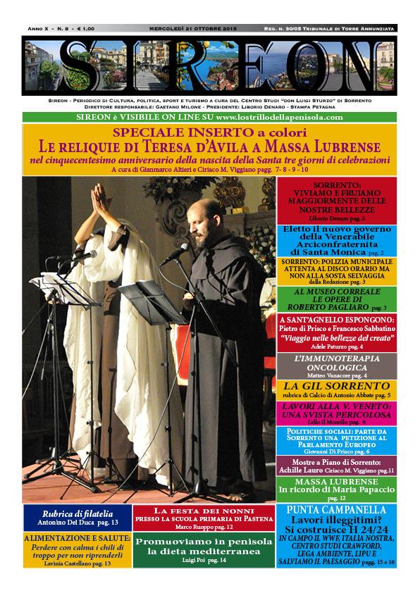 """La versione pdf dell'ultimo numero del periodico """"Sireon"""""""
