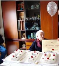 SORRENTO: FESTEGGIA I SUOI 110 ANNI LA SIGNORA MARIA ANTONINA FIORENTINO