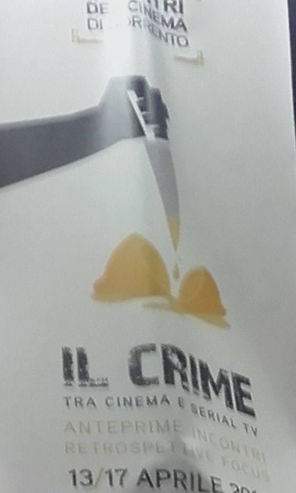 SORRENTO: INCONTRI DEL CINEMA, IL CRIME TRA CINEMA E SERIAL TV