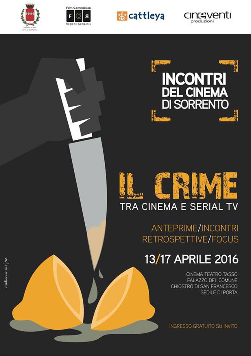 #CINEMASORRENTO CRIME… TRA PICCOLO E GRANDE SCHERMO