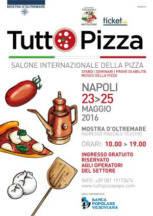 TUTTOPIZZA, A NAPOLI IL PRIMO EVENTO FIERISTICO INTERNAZIONALE SPECIALIZZATO SULLA PIZZA