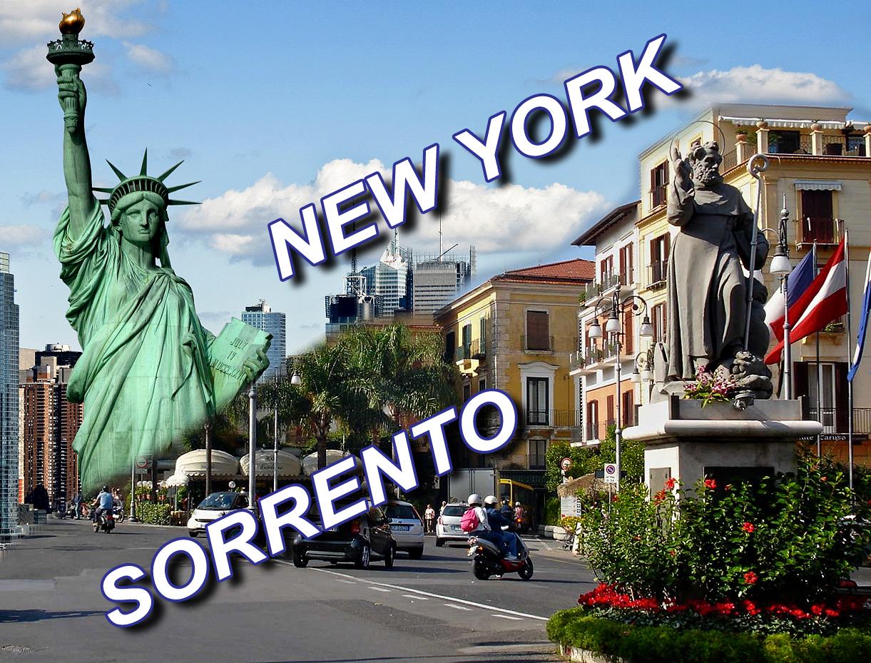 """IL """"MODELLO SORRENTO"""" PROTAGONISTA A NEW YORK IL 3 E 4 NOVEMBRE 2017"""