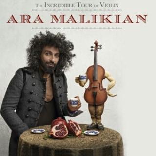 """L'eclettico violinista """"Gipsy"""" Ara Malikian il 25 novembre al Teatro Armida di Sorrento."""