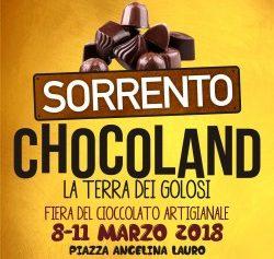 SORRENTO – CHOCOLAND, GRANDE FIERA DEL CIOCCOLATO DALL'8 ALL'11 MARZO