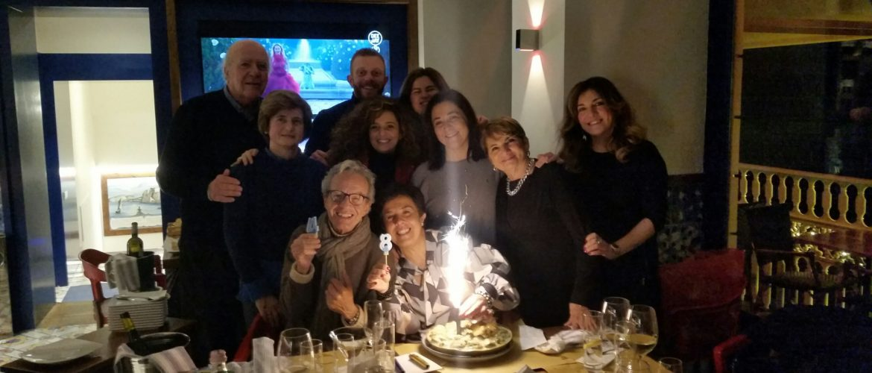 BAR SYRENUSE: FESTA GRANDE PER I 48 ANNI DI GISELLA