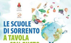 """SORRENTO – """"A TAVOLA CON"""" INCONTRO PUBBLICO SULL'EDUCAZIONE ALIMENTARE"""