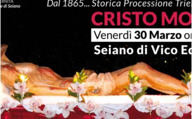 """RITORNA LA """" PROCESSIONE ROSSA"""" DI SEIANO"""