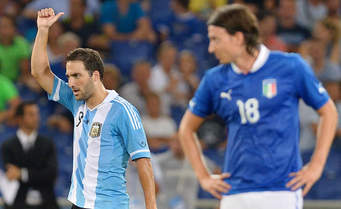 MANCHESTER, LE FORMAZIONI DELL'INCONTRO DI CALCIO ITALIA – ARGENTINA