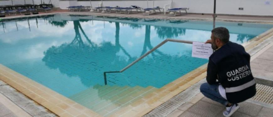 SANT'AGNELLO – PISCINA ABUSIVA IN HOTEL, STANGATA DEL TAR