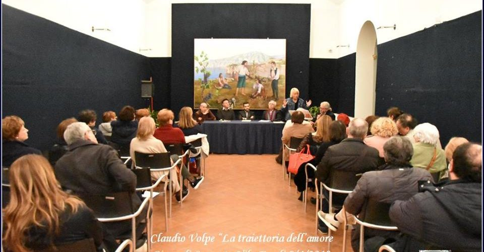 Festa d'arte per Claudio Volpe a Villa Fondi