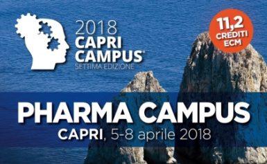 PHARMA CAMPUS – CAPRI 5-8 APRILE 2018: CAPRI DIVENTA UNA CITTADELLA SCIENTIFICA