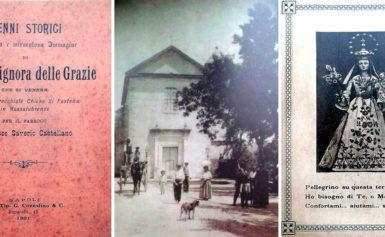 """MASSA LUBRENSE – DON FRANCESCO SAVERIO CASA, HA CURATO LA RISTAMPA ANASTATICA DI UN VOLUMETTO DEL 1901: """"NOSTRA SIGNORA DELLE GRAZIE – CHE SI VENERA NELLA PARROCCHIALE CHIESA DI PASTENA IN MASSALUBRENSE"""""""