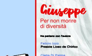 """TORRE ANNUNZIATA: AL LICEO """"GIORGIO DE CHIRICO"""" PRESENTAZIONE DEL LIBRO """"GIUSEPPE"""""""