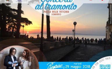 """SORRENTO – AL VIA LA RASSEGNA DI MUSICA """"I CONCERTI AL TRAMONTO"""""""