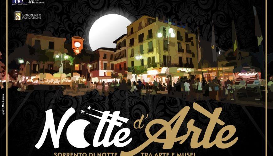"""A SORRENTO LA """"NOTTE D'ARTE"""" EVENTI E MANIFESTAZIONI CULTURALI"""
