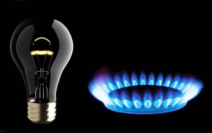 DAL PRIMO LUGLIO AUMENTI IN BOLLETTA PER LUCE E GAS +6,5%,+8,2%