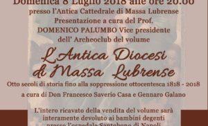 MASSA LUBRENSE: DOMENICA 8 LA STORIA DELL'ANTICA DIOCESI SANTA MARIA DELLE GRAZIE IN UN LIBRO DI GENNARO GALANO E DON SAVERIO CASA DOMENICA 8