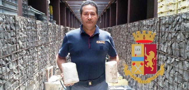 POMPEI – REPERTI ARCHEOLOGICI ABBANDONATI ALL'ESTERNO DEGLI SCAVI RECUPERATI DALLA POLIZIA