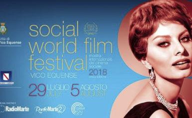 SOCIAL WORLD FILM FESTIVAL 2018 – KATHERINE KELLY LANG MADRINA DELLA KERMESSE CINEMATOGRAFICA