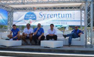SORRENTO/PENISOLA – SYRENTUM: «FRATELLI D'ITALIA RIPARTE DA QUI»