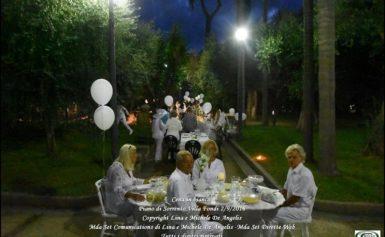 Cena in bianco a Villa Fondi: il successo dei De Angelis