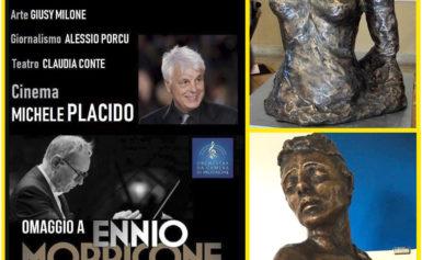 """VALLECORSA – FROSINONE: IL PROSSIMO 22 SETTEMBRE, PER LA SCULTURA """"VIOLA"""", PREMIO A GIUSY MILONE IN OCCASIONE DELLA I^ EDIZIONE """"LA VIA DEL CINEMA"""" PER LA SEZIONE ARTE"""