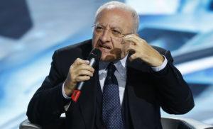 ISCHIA: SU IPOTESI CONDONO CONDONO L'IRA DEL PRESIDENTE DE LUCA E DEL PD CONTRO DI MAIO