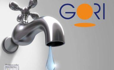 Sorrento – Gori comunica l'interruzione fornitura idrica in tutto il centro storico.