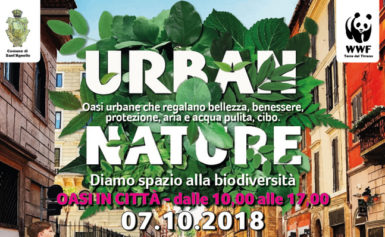 """IL 7 OTTOBRE TORNA L'EVENTO WWF """"URBAN NATURE""""  … DEDICATO ALLA NATURA IN CITTÀ!"""