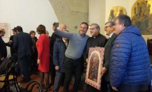 NAPOLI: L'ARCICONFRATERNITA DEL SS. ROSARIO DI SORRENTO PRESENTE ALL' ASTA DI BENEFICENZA  DELLA CURIA ARCIVESCOVILE