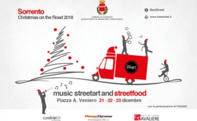 SORRENTO – CHRISTMAS ON THE ROAD: PER LE FESTE NATALIZIE, ANCHE QUEST'ANNO TORNA LO STREET FOOD