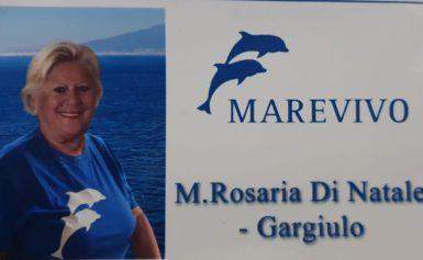 SORRENTO: MARIA ROSARIA DI NATALE GARGIULO, CAMPIONESSA DEL MONDO DI FOTO SUB ALLA GUIDA DI MAREVIVO