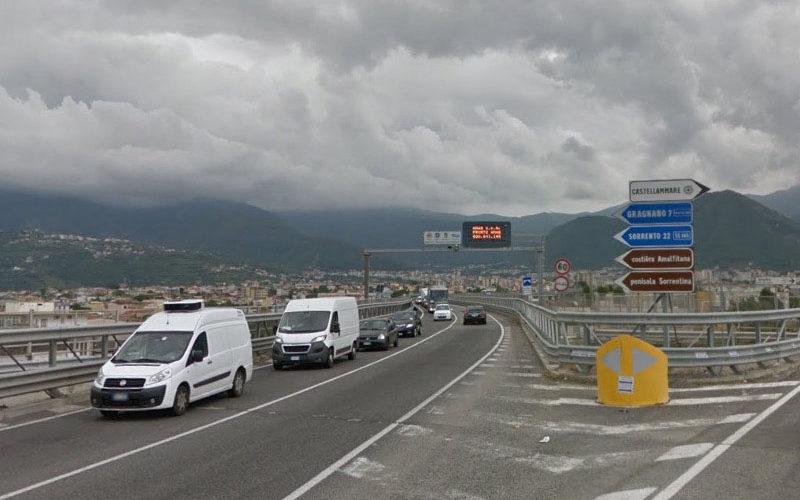 DA LUNEDI' LA SPERIMENTAZIONE DEL NUOVO DISPOSITIVO DI TRAFFICO SUL VIADOTTO SAN MARCO