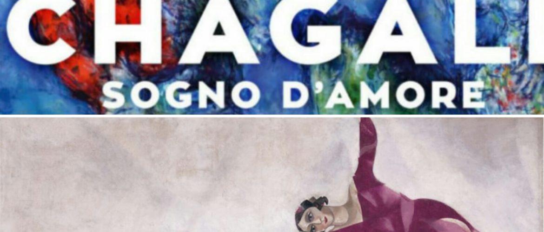 """CHAGALL – """"Sogno d'amore"""": Mostra di Chagall a Napoli."""