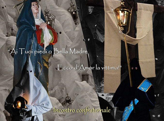 SORRENTO,TEMPIO DELLA SS.ANNUNZIATA: SABATO 6 APRILE INCONTRO DI FEDE TRA LE ARCICONFRATERNITE DI SANTA MONICA E DEL SS.CROCIFISSO DI META