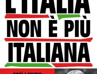 """SORRENTO – """"L'ITALIA NON È PIÙ ITALIANA"""", SABATO 4 MAGGIO PRESENTAZIONE DEL LIBRO DI MARIO GIORDANO ALL'HOTEL TRAMONTANO."""