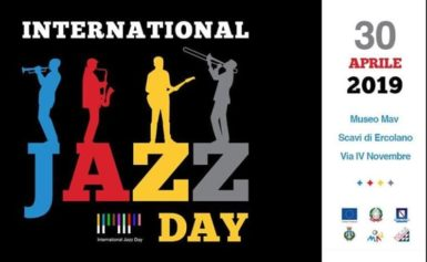 ERCOLANO: I MUSICISTI DEL LICEO GRANDI DI SORRENTO ALL'INTERNAZIONAL JAZZ DAY
