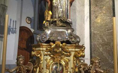 GIOVEDI' 2 MAGGIO: DOPO CIRCA TRENT'ANNI SANT'ANTONINO TORNA A SANTA LUCIA PER LA SOLENNITA' DETTA DEI GIARDINIERI