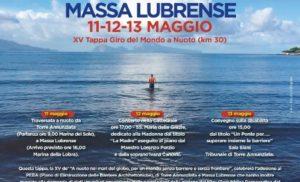 """MASSA LUBRENSE: """" A NUOTO NEI MARI DEL MONDO"""". SALVATORE CIMMINO FA TAPPA ALLA LOBRA"""