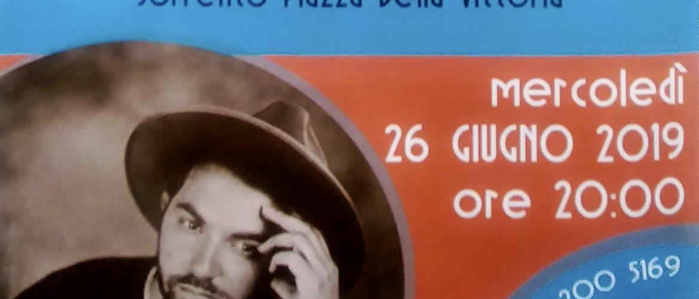 """SORRENTO – CONTINUA LA RASSEGNA MUSICALE """"I CONCERTI AL TRAMONTO"""" IL 26 GIUGNO IN PIAZZA DELLA VITTORIAALESSIO ARENA."""