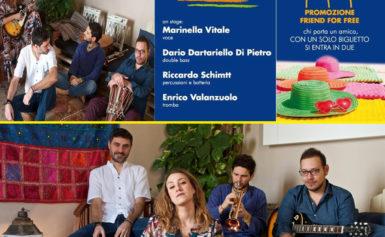 """SORRENTO – VENERDÌ 6 SETTEMBRE 2019 ORE 21.00, IN VILLA FIORENTINO, PER LA RASSEGNA """"SUMMERTIME 2019"""": AZUL IN CONCERTO"""
