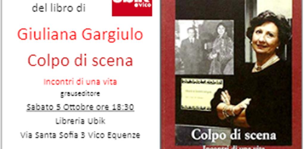 Colpo di scena di Giuliana Gargiulo alla Ubik Vico: un appuntamento da non perdere