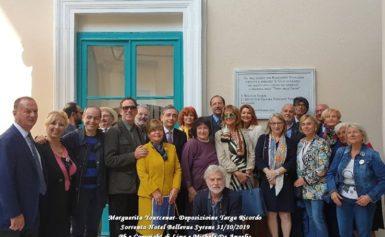 Marguerite Yourcenar rivive a Sorrento grazie all'Istituto di Cultura Torquato Tasso
