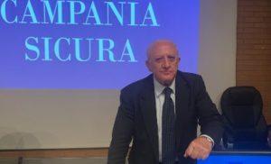 REGIONE CAMPANIA: DE LUCA INCONTRA RAPPRESENTANTI TURISMO, CULTURA, SPETTACOLI