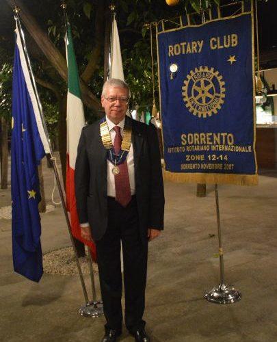 ROTARY CLUB SORRENTO: ALFREDO CICCODICOLA E' IL NUOVO PRESIDENTE