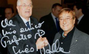 Raffaele Lauro premiato per Lucio Dalla