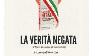 """SORRENTO, VILLA FIORENTINO: DOMANI VENERDI' 11 ALLE ORE 19.00 PRESENTAZIONE DEL LIBRO """"LA VERITA' NEGATA"""""""