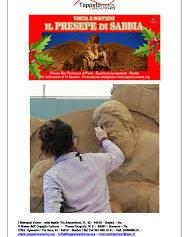 SCAFATI: MARTEDI' 15, INAUGURATO DAL VESCOVO FRANCESCO MARINO IL PRESEPE DI SABBIA